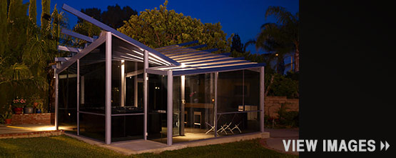 Glass Gazebo