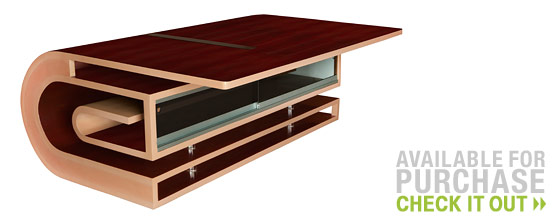 Cantilevered Coffee Table